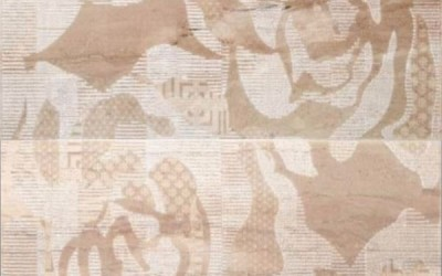 колекции за баня - декор рози 1917 размер 5050 см